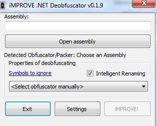 موطن الهاكر: Improve  NET - Deobfuscator