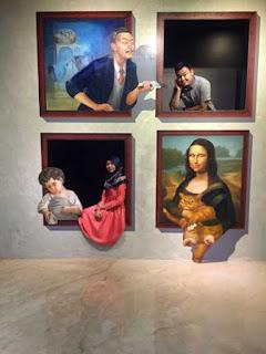 Magic Eye 3d museum magic show