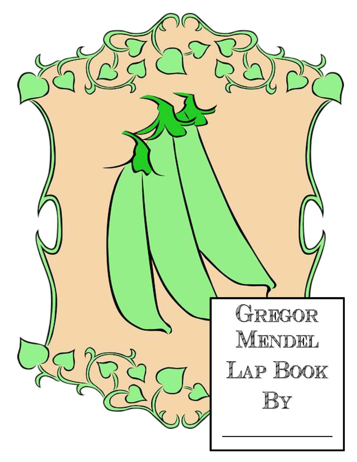 The Hermit Crabs Homeschool Gregor Mendel Lap Book