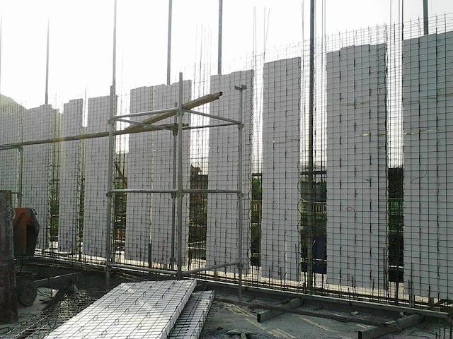 Tường chịu lực Cốt thép 3D