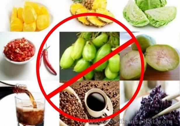 9 Pantangan Makanan Bagi Penderita Penyakit Asam Lambung