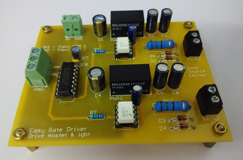 electronic too free: Easy gate driver testing - FOD3120V