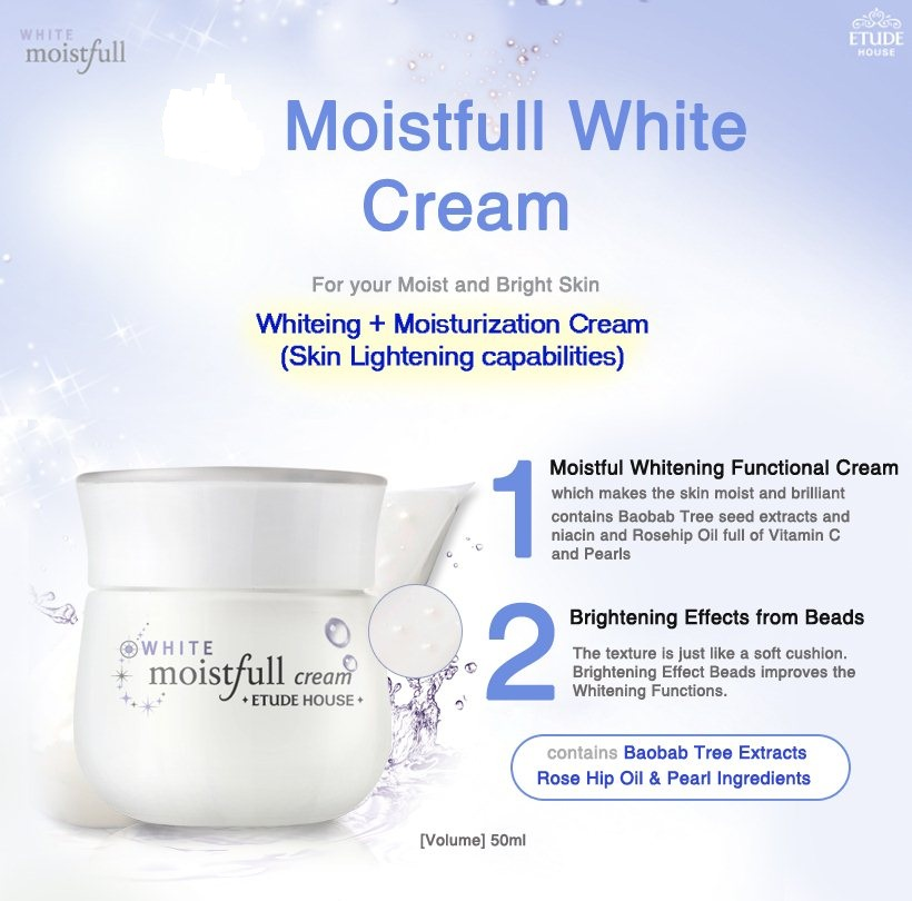Etude House - Moistfull White Cream (50ml)