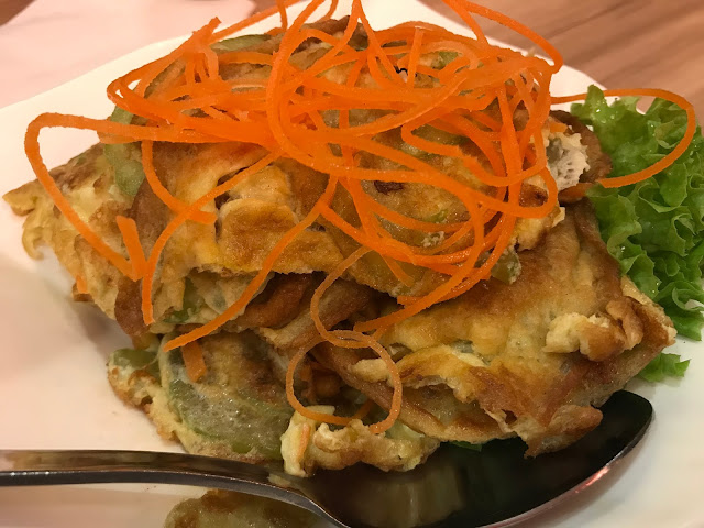 Lao Huo Tang - Fried Egg with Bittergourd
