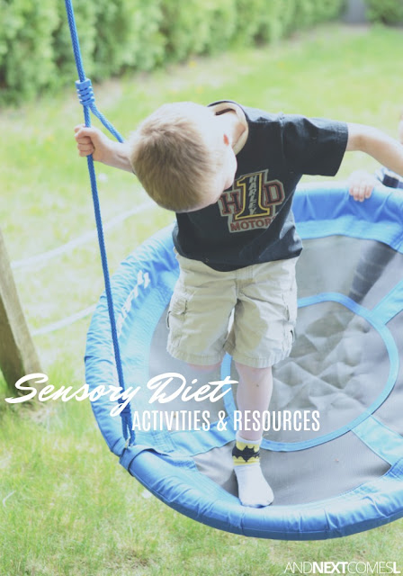 Sensory diet activities and sensory processing resources for parents