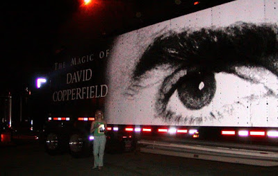 The Magic of David Copperfield truck