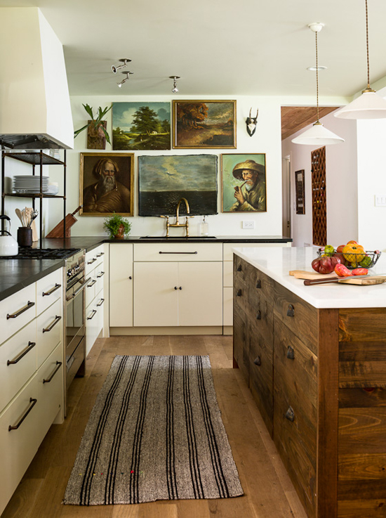 Kitchen redo by Lauren Liess. Photo by Helen Norman