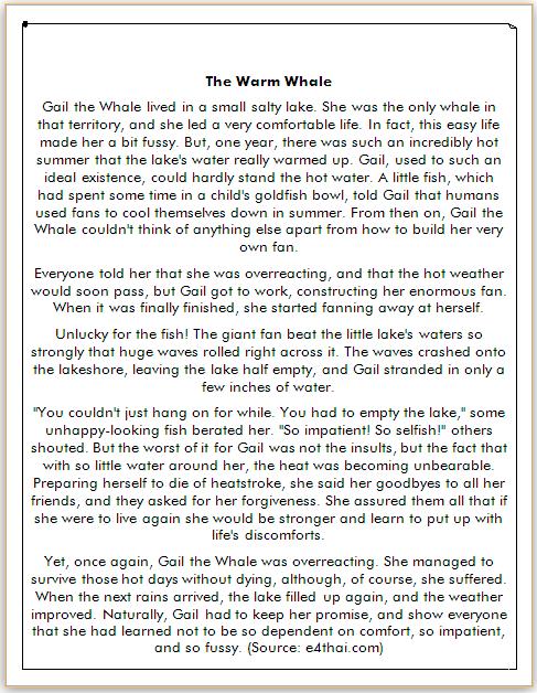 cerita dongeng bahasa inggris ikan paus