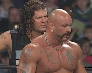 WCW Spring Stampede 1999 - Raven & Saturn faced Chris Benoit & Dean Malenko