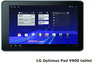 LG Optimus Pad V900 3D tablet