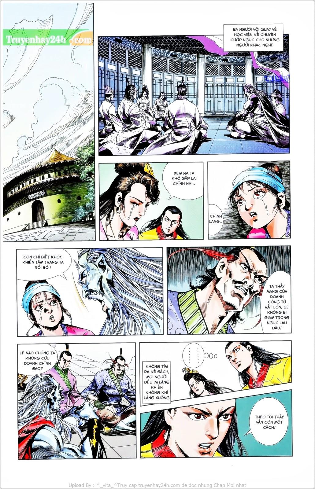 Tần Vương Doanh Chính chapter 26 trang 10