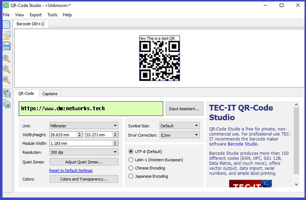 QR -Code Studio