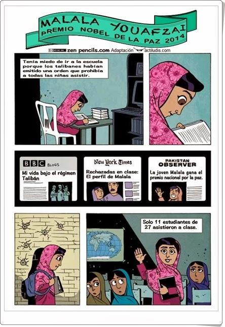 """Día Mundial de la Educación: """"Malala Youafzai"""""""