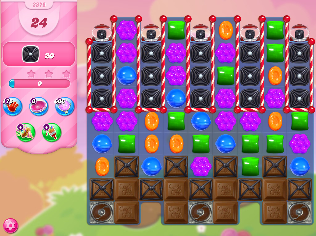 Candy Crush Saga level 3379