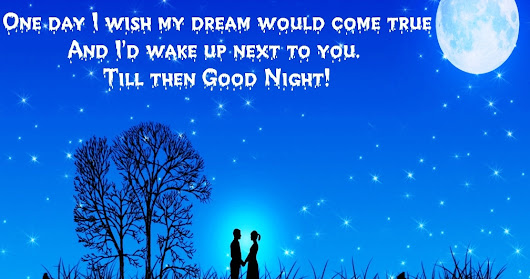 Best Sweet Good Night Love Quotes, Message, Wishes, Sms Free Download For Facebook and WhatsApp