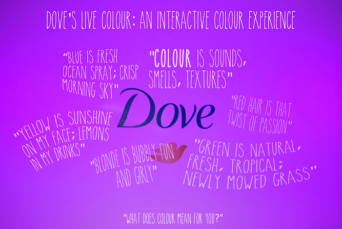 Dove Interactive Colour Live Experience Hair Care Australia
