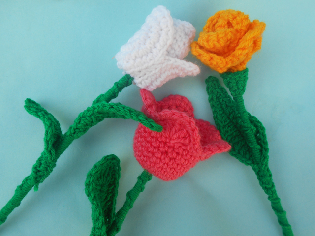 Crochet Crosia Free Patttern With Video Tutorials Tulip Crochet