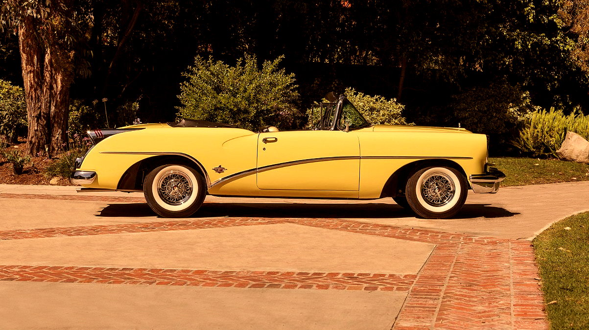 Muscle Car Collection 1954 Buick Skylark Convertible Review Riviera Side Right