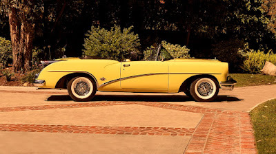 1954 Buick Skylark Convertible Side Right