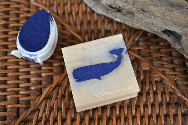 how to make your own ink stamp