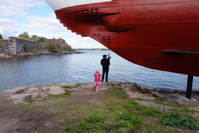 Suomenlinnassa pienten lasten kanssa / matkablogi