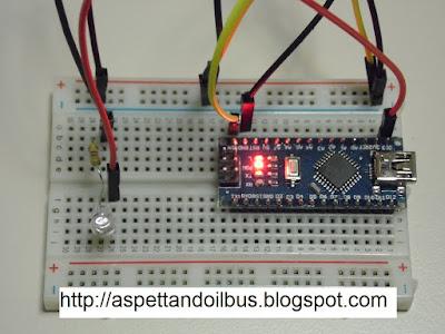 Fig. 8 - Arduino Nano V 3.0 - collaudo - foto di Paolo Luongo