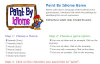 Paint by Idioms homepage