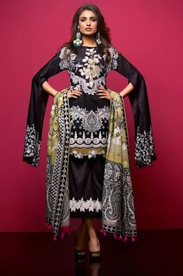 Thredz Unstitched Pre-Spring Lawn 2 Piece Dresses Collection 2017