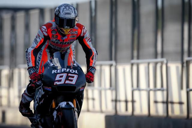 berita motogp Marquez : Honda sudah bagus, tapi masih ada kelemahan