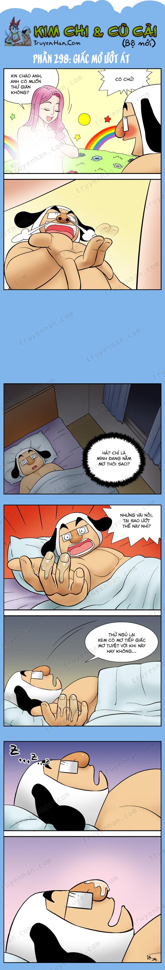 Kim Chi Và Củ Cải phần 298: Giấc mơ ướt át