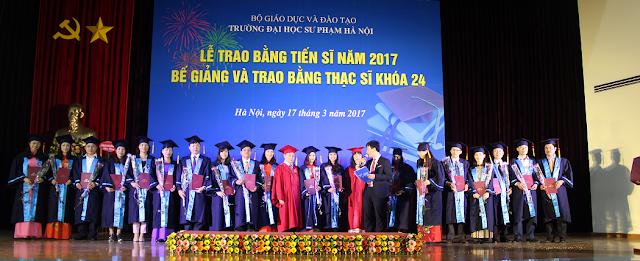 Tuyển sinh Cao học Quản lý giáo dục Đại học Sư phạm Hà Nội