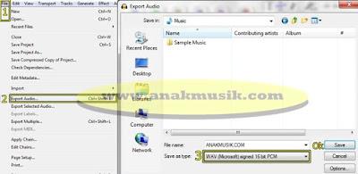 Cara Memotong Lagu MP3 di Audacity