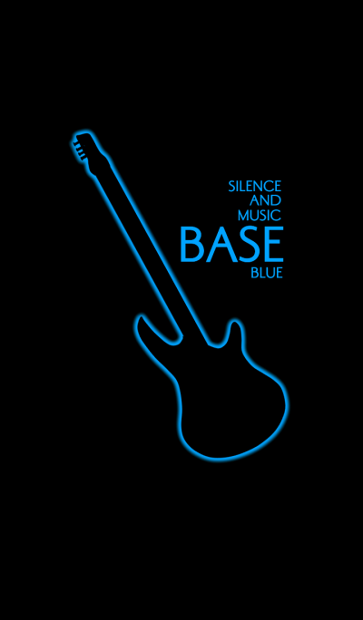Silence and music BASE:Blue