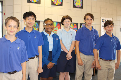 Five MCPS Students Qualify for State Recognition by Duke TIPS 1