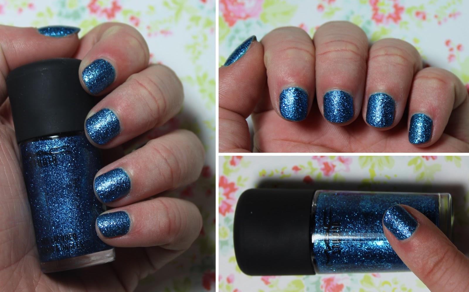 mac haute octane nail polish