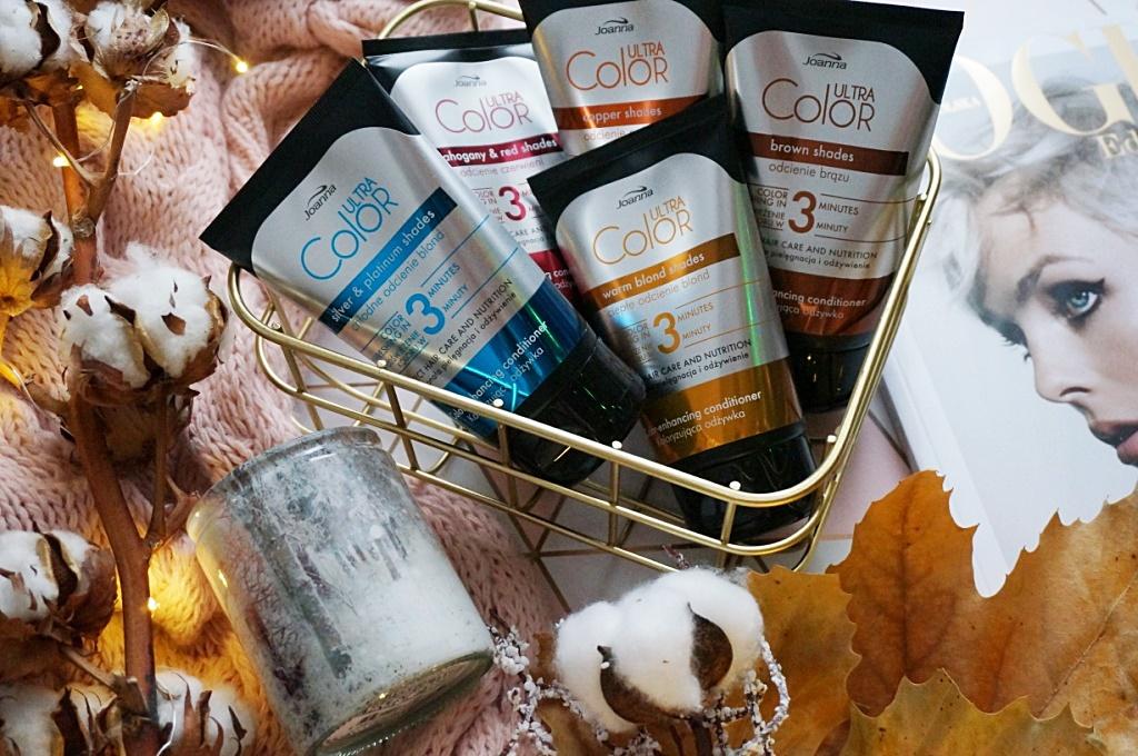 Joanna Ultra Color odżywki koloryzujące pielęgnacja włosów