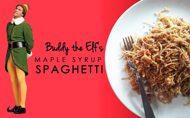 MKaple Syrup Spaghetti www.blogtotaste.com