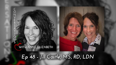 Conversations with Anne Elizabeth Podcast on iTunes featuring Jill Castle MS, RD, LDN