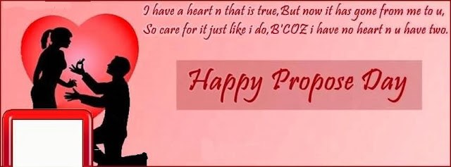 Free Download Happy Propose Day Facebook Cover Pic