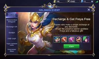 Cara Mendapatkan Freya dengan Harga 3000 Rupiah Mobile Legends