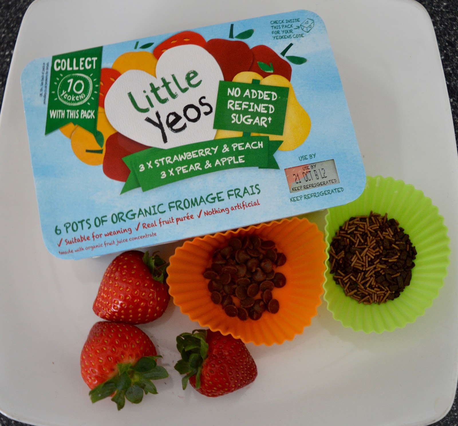 Little Yeos Yoghurt Bark Recipe - ingredients