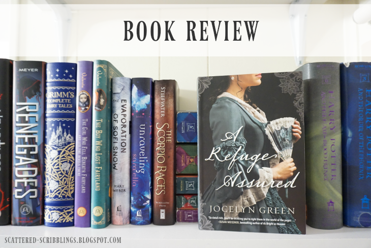Book Review - A Refuge Assured by Jocelyn Green [post title image]