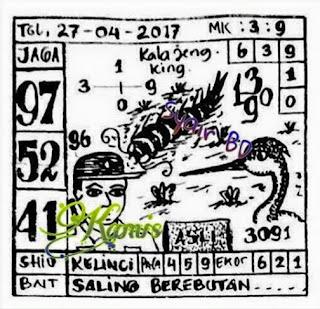 PREDIKSI ANGKA KELUARAN TOGEL SINGAPURA KAMIS 27 APRIL 2017