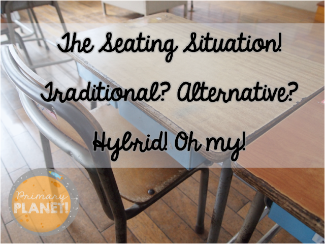 Traditional Seating, Alternative Seating, Flexible Seating,