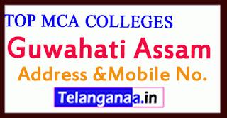 Top MCA Colleges in Guwahati Assam