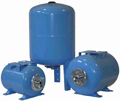 Вертикальные и горизонтальные гидроаккумуляторы для холодной воды