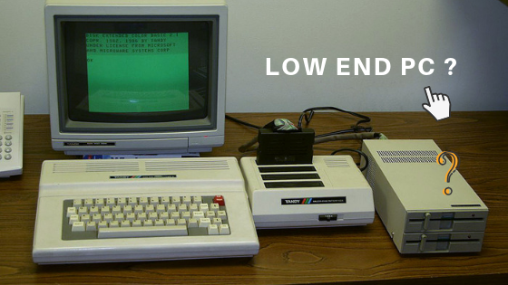 What is a low-end pc?