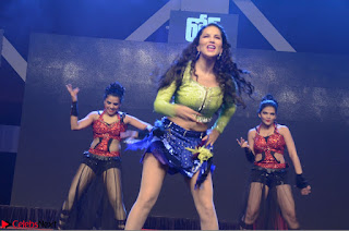 Sunny Leone Dancing on stage At Rogue Movie Audio Music Launch ~  093.JPG