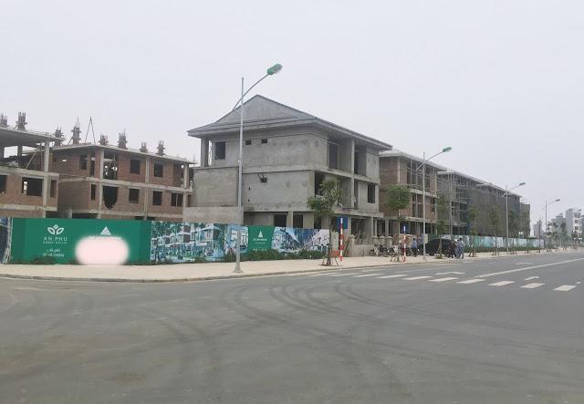 Tiến độ xây dựng dự án An Phú Shop Villa