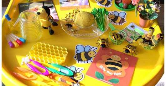 Bee Week Tuff Tray